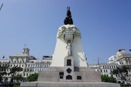 San Martin/Madre Patria statue