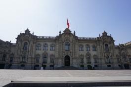 Palacio de Gobierno (the President's residence)