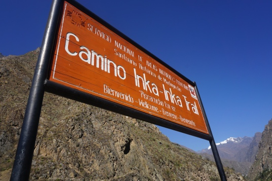 Here we go!! The start of the Inca Trail