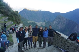 Our trail crew, and Ruben our guide