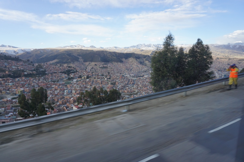 First view of La Paz
