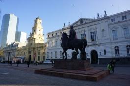 Statue of Valdivia @ Plaza de Armas