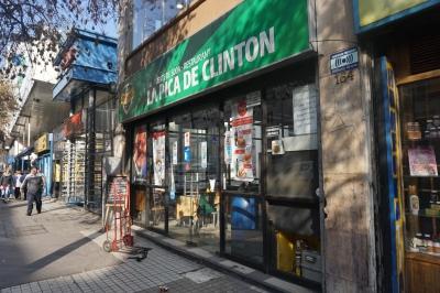 ..where Bill Clinton ate when he visited Santiago