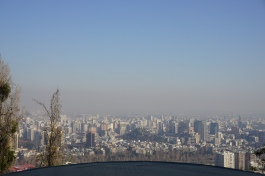 Santiago from Cerro San Cristobal