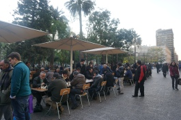 Chess @ Plaza de Armas