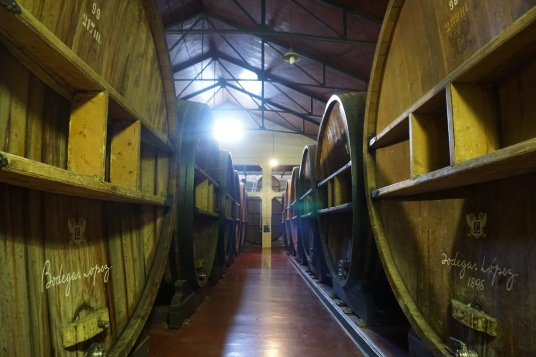 French Oak casks