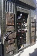 Evita's resting place