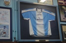 Signed Diego Maradona Argentina shirt