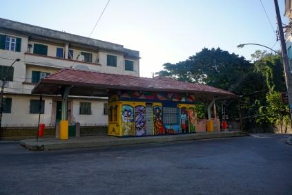 Santa Teresa bus stop