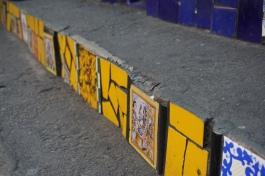 Coloured tiles @ Selarón