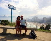 Ipanema behind us