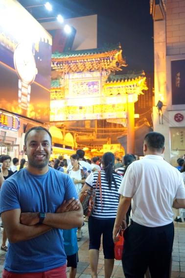 Me outside Wangfujing St