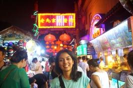 Karina at Wangfujing