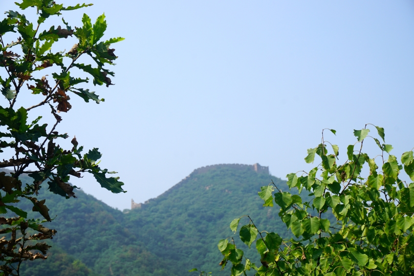 First sight of The Great Wall of China