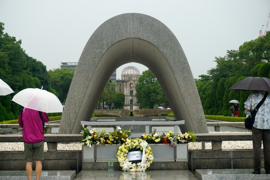 A-Bomb Dome & The Memorial Cenotaph