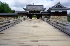 Hiroshima Castle compound entrance
