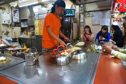 Chef at Okonomi-mura