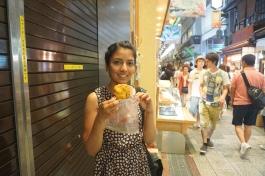 Karina's fried vegetable dumpling