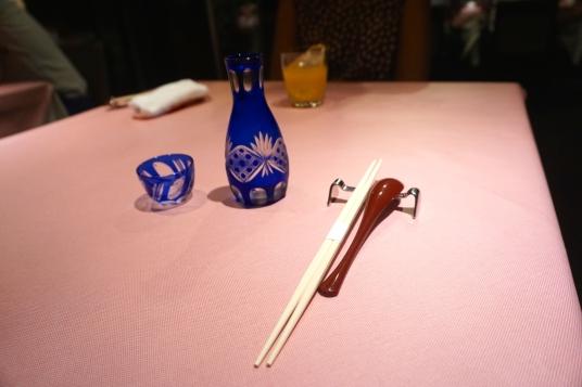 Sake to start!
