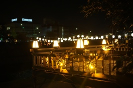 Riverfront restaurant