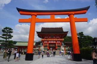 Fushimi Inari-taisha entrance & shine