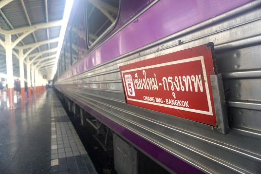 Bangkok-Chiang Mai night train