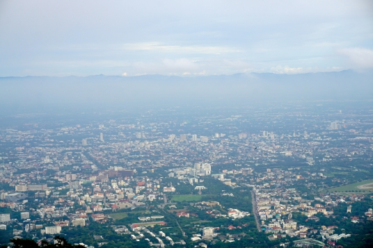 View of Chiang Mai from Doi Suthep