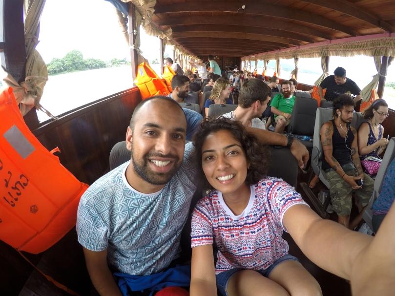 Mekong River slow-boat